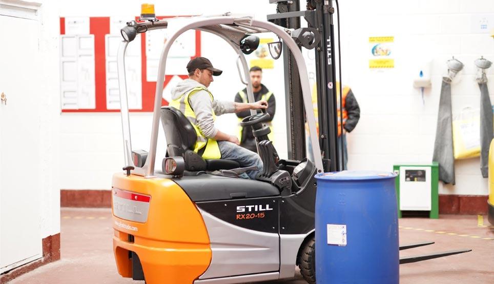 forklift training 4KS Forklift Training