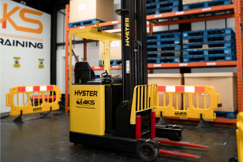Forklift Training Centre Peterborough - Reach Truck
